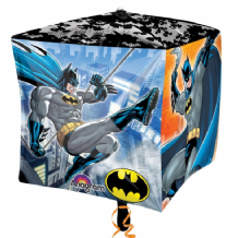"Batman Cubez Balloon (15"") 1pc"